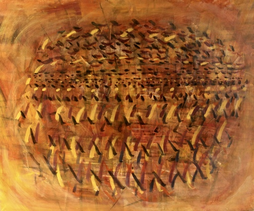 Tancredi PARMEGGIANI - Pintura - Senza titolo (Composizione)
