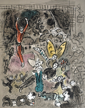 Marc CHAGALL - Print-Multiple - Fantastic Composition 1st State