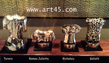 Miguel BERROCAL - Escultura - Torero/Richelieu/Goliath
