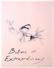 Tracey EMIN - Estampe-Multiple - Believe in Extraordinary
