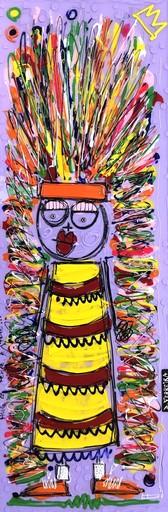 David FERREIRA - 绘画 - Hug la femme à toto