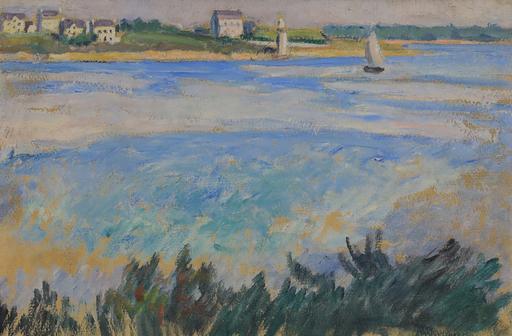 Jean PUY - 绘画 - Voilier en Bord de Mer