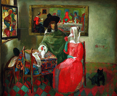 Maxim BASHEV - Painting - Special Thanks to Vermeer