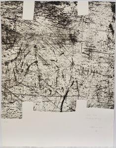 Eduardo CHILLIDA - Druckgrafik-Multiple - Yves Bonnefoy: Une Hélène de vent au de fumée II