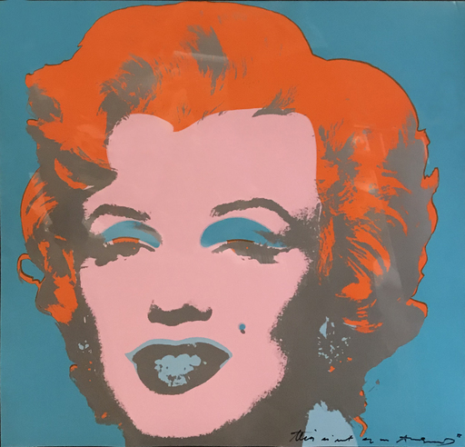 Andy WARHOL - Print-Multiple - Marilyn 'This is not by me'