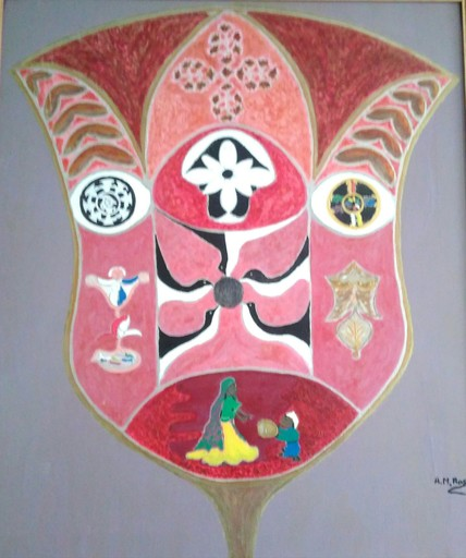 ATCHAMA - Painting - la porte humanitaire