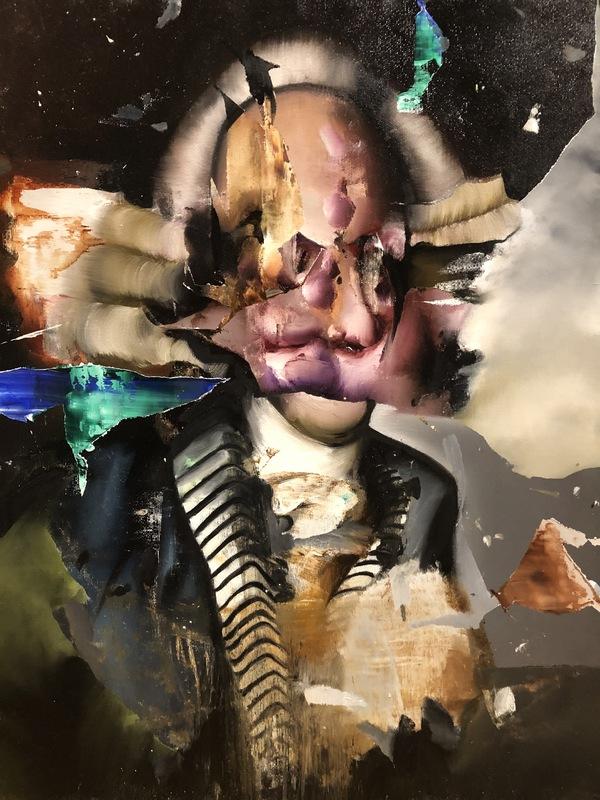 Florian EYMANN - Pintura - Portrait