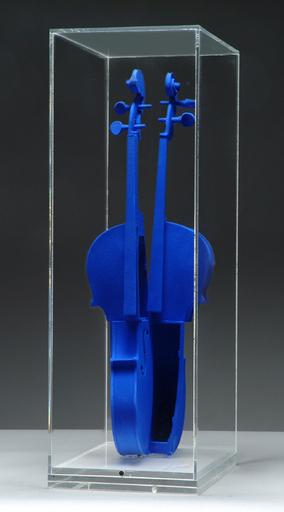 Fernandez ARMAN - Sculpture-Volume - Hommage à Yves Klein