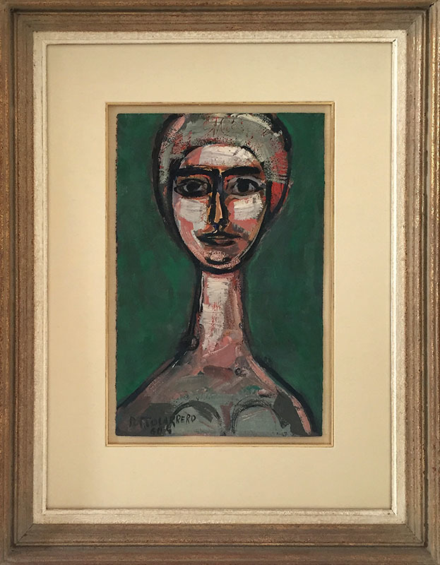 René PORTOCARRERO - Peinture - Abstract Composition
