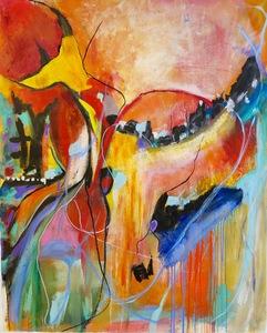 Joan Ramon SOTO - Painting - Síntesis 01