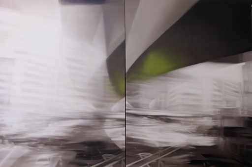 Jean-Marc AMIGUES - Pittura - Tokyo - drift
