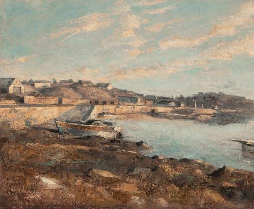 André BOUBOUNELLE - Gemälde - Les quais ensoleillés, 2021