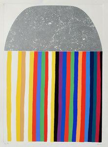 Alberto BURRI - Stampa Multiplo - Acquaforte e serigrafia G