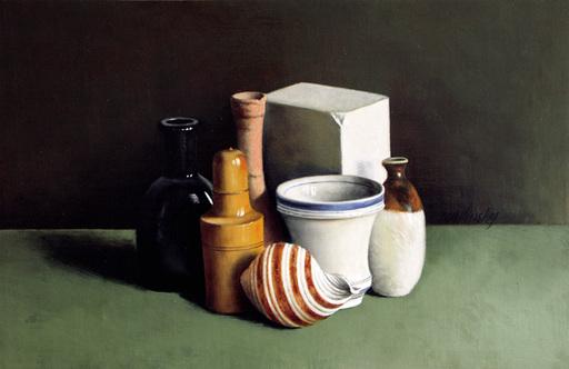 Bernard LONDINSKY - Pintura - Souvenir de Morandi