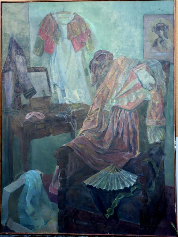 """Yvette DREANNE - Painting - """"ENTRE-ACTE"""""""