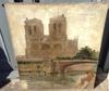 Léon CAUVY - 绘画 - Notre Dame