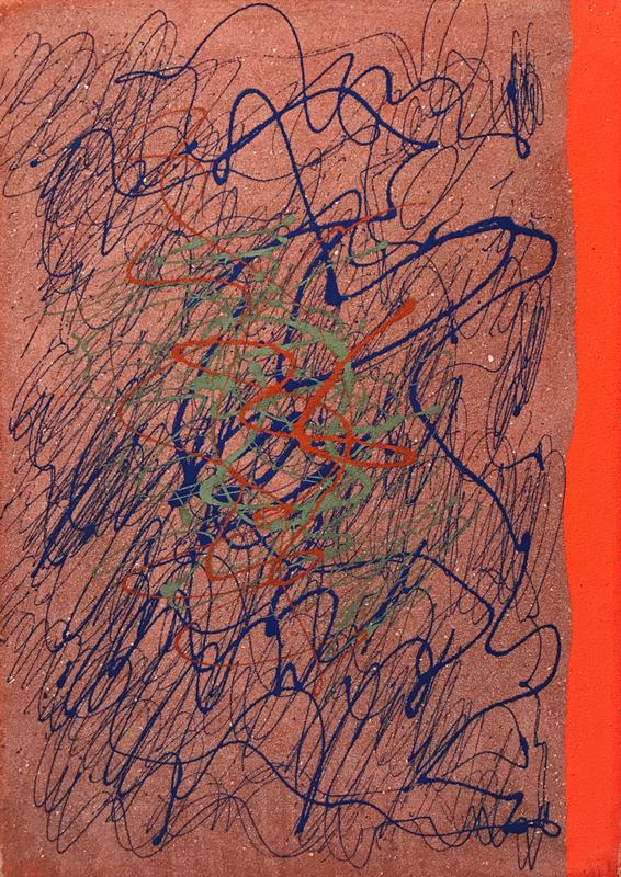 Giulio TURCATO - Peinture - Senza titolo, anni '70