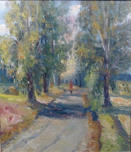 Gennady ZAVIZIONNY - Peinture - L'Allée