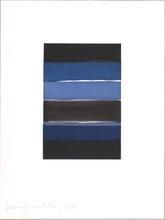 肖恩•斯库利 - 版画 - Landline (blue)