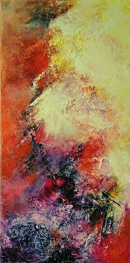 Françoise DUGOURD CAPUT - Painting - Comete