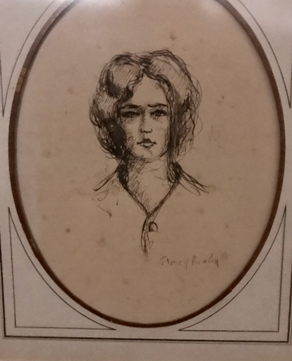 Francis PICABIA - Painting - Portrait de Femme