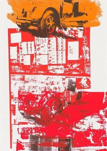Robert RAUSCHENBERG - Stampa-Multiplo - Read Bleed