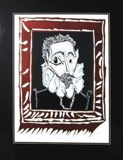 Pablo PICASSO - Print-Multiple - L'Homme a la Fraise