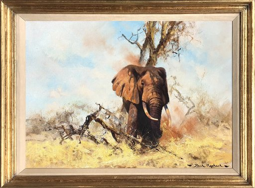 David SHEPHERD - Painting - Old George