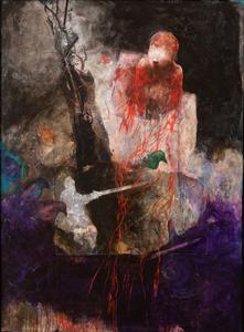Anton CHRISTIAN - Painting - Saint Savin I