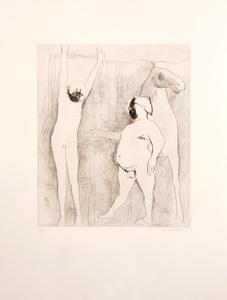 Marino MARINI - Druckgrafik-Multiple - L'IMPICCATO