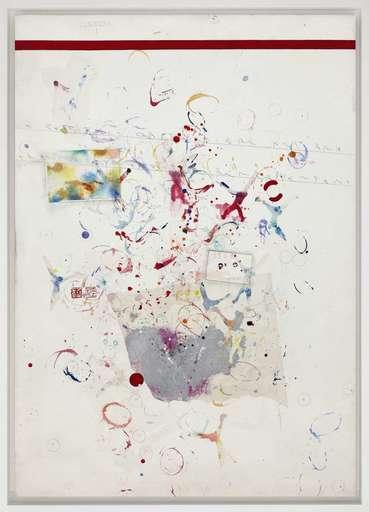 Alighiero BOETTI - Painting - Senza titolo (Scimmie)