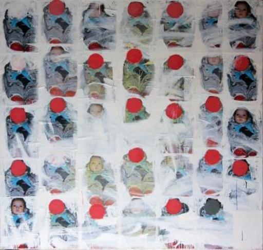 Philippe PASQUA - Gemälde - Babies