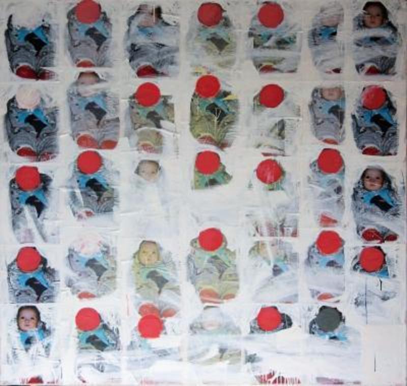 Philippe PASQUA - Peinture - Babies