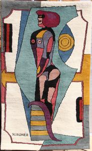 Richard LINDNER - 挂毯 - Earth Mother
