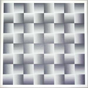 Getulio ALVIANI - Print-Multiple - Testura grafica