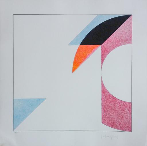 Gottfried HONEGGER - Print-Multiple - Le Carré Transparent