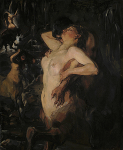 Wilhelm TRÜBNER - Painting - Kentauren