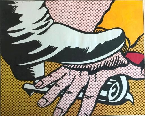罗伊•利希滕斯坦 - 版画 - Foot and Hand