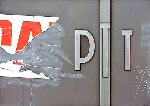 Peter KLASEN - Gemälde - PTT