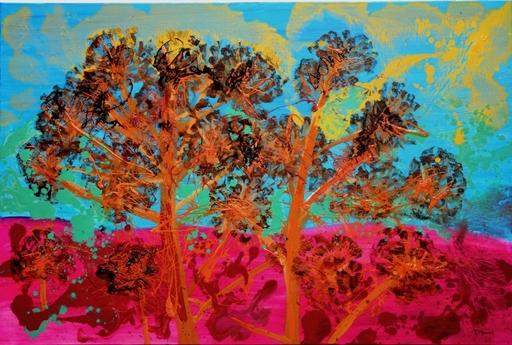 Peny MANAVI - Gemälde - Cactus 17