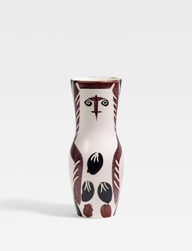 Pablo PICASSO - Ceramic - Young wood-owl