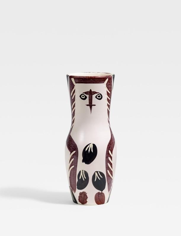 Pablo PICASSO - Ceramiche - Young wood-owl