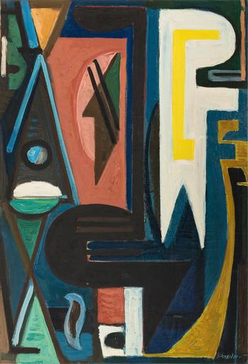 Gérard SCHNEIDER - Painting - Opus 271