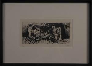 Henry MOORE - Druckgrafik-Multiple - Reclining figure III