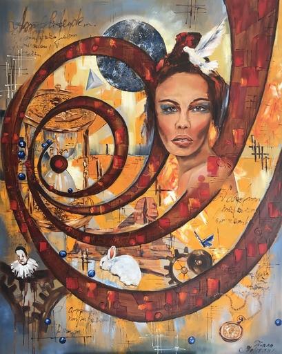 Diana MALIVANI - Pittura - The Illusion of Presence