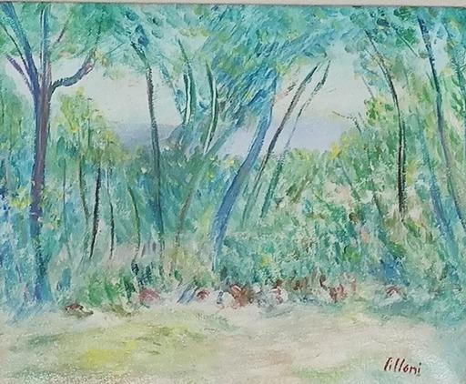 Umberto LILLONI - Painting - Paesaggio