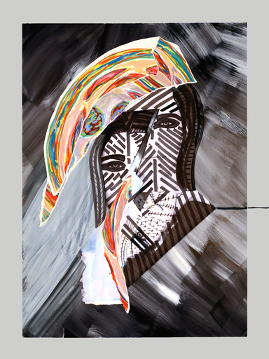 Bleue ROY - Fotografie - Broken Mirror