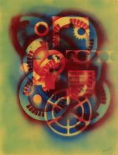 Jean-Claude FARHI - Dessin-Aquarelle - Mécanique