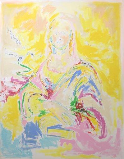 Nicole LEIDENFROST - Gemälde - Mona Lisa