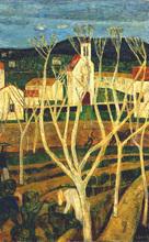 Auguste DUREL - Painting - Les labours (N°18)